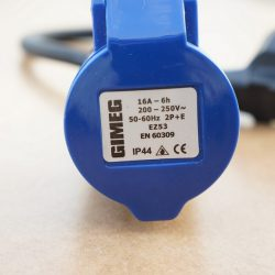 Сетевой шнур-переходник CEE, 220В 1
