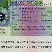 Оформление шенгенской визы