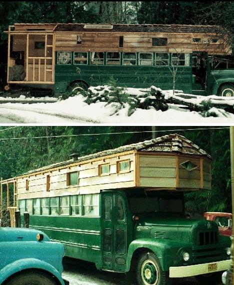 Деревянные автодома