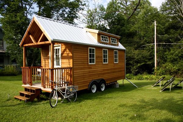 Деревянные дома на колесах