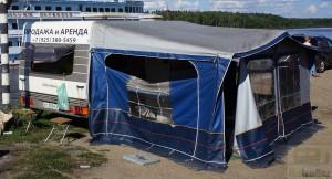 Продается тент палатка к прицепу Hobby 10D