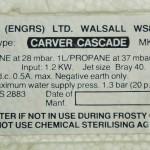 Carver Cascade 2 1
