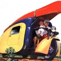 Мотоцикл-кемпер