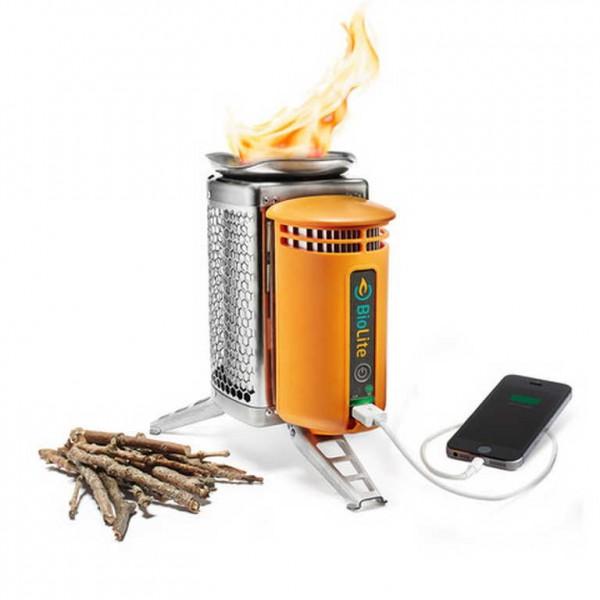 Зарядка для телефона на дровах