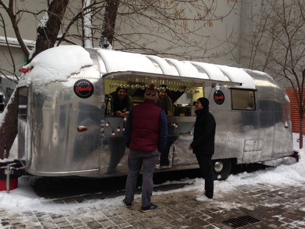 Фудтрак Airstream Land Yaht 13