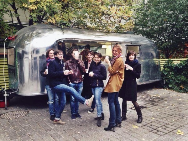 Фудтрак Airstream Land Yaht 16