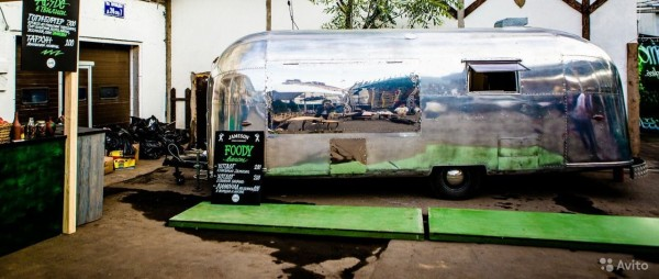 Фудтрак Airstream Land Yaht 7