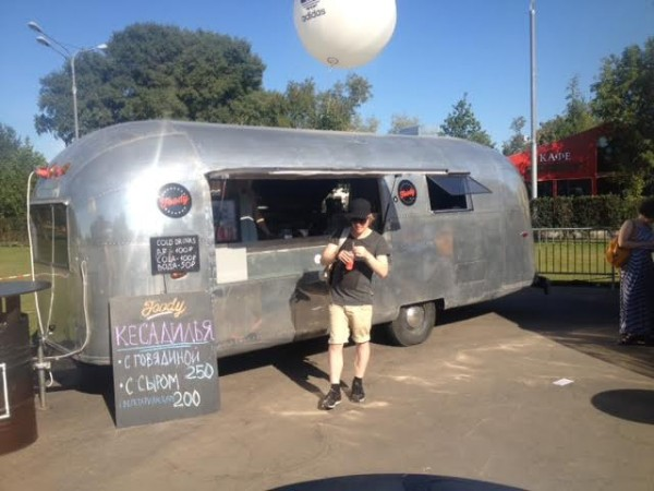 Фудтрак Airstream Land Yaht 5
