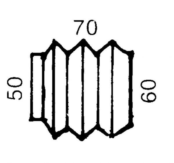 Пыльник на сцепное AL-KO 70/60 1