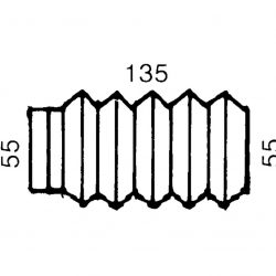 Пыльник на сцепное BPW/Knott 1