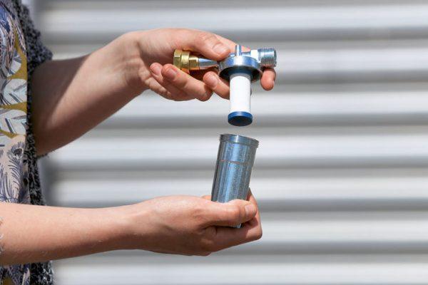 Газовый фильтр GOK Caramatic ConnectClean 1