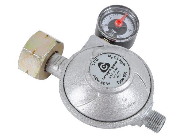 Редуктор Cavanga Group, 1.5 кг/ч, 29 мбар с монометром