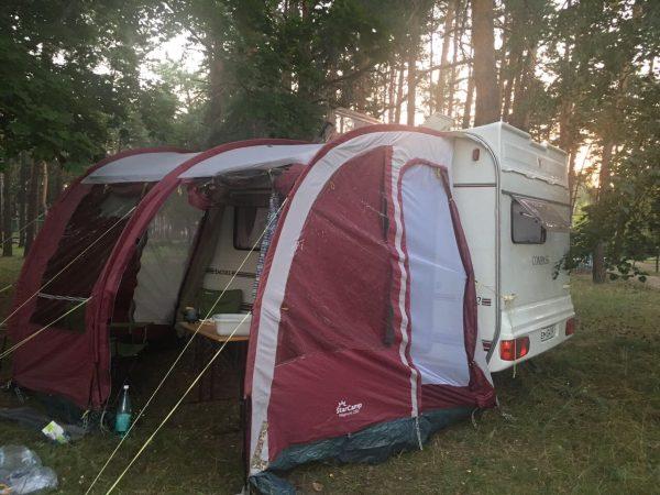Универсальная тент-палатка