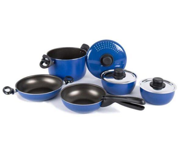 Посуда для кемпинга. 9 предметов