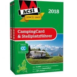 Каталог кемпингов Европы ACSI 2018