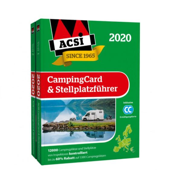 Каталог кемпингов Европы ACSI 2020