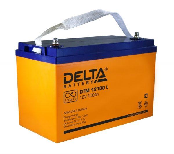 Аккумуляторы Delta серии DTML