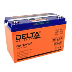 Аккумуляторs Delta серии GEL