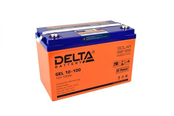 Аккумуляторs Delta серии GEL — купить онлайн с доставкой