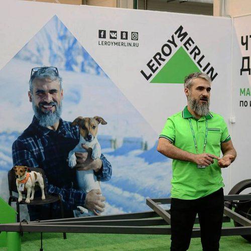 """Руслан Внедорожный построит автодом в """"Леруа Мерлен"""""""