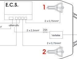 Винтовые опоры AL-KO Premium Electro с электроприводом 1