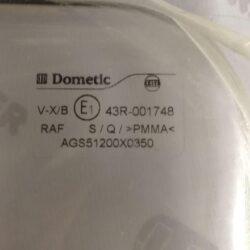 Стекло для Dometic S5 1200*350 1
