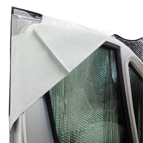 Термоизоляция на передние стёкла автодома Classic 1