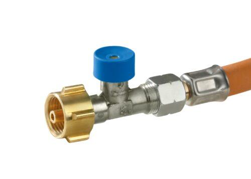 Газовый шланг GOK Caramatic ConnectDrive с защитой от разрыва 1