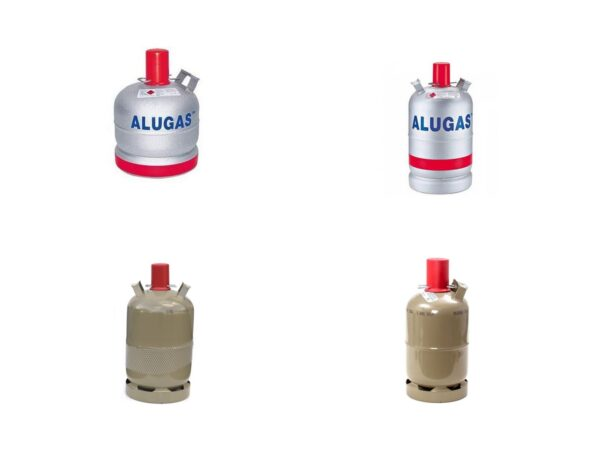 Газовые баллоны металлические — купить онлайн с доставкой