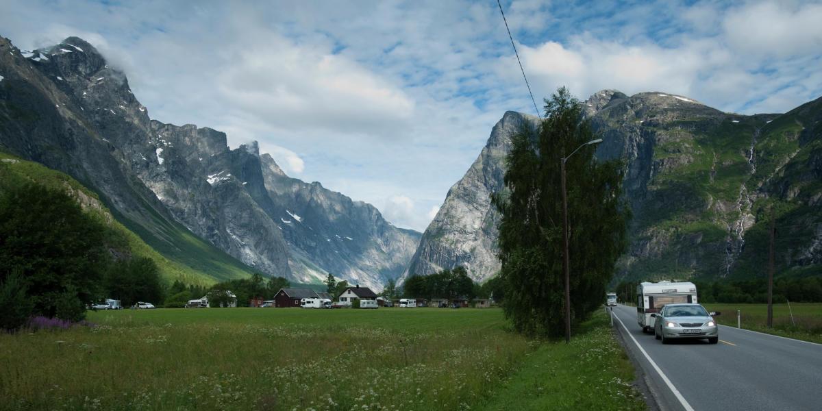 Караванинг в горах
