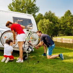 Fiamma Carry-Bike Caravan A-Frame велосипедные крепления для караванов