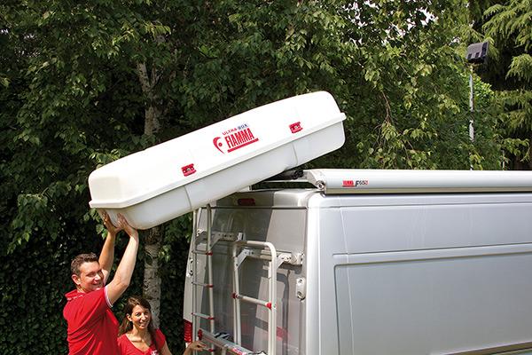 Fiamma Roller Roof Rail ролик для багажника на крыше — купить онлайн с доставкой