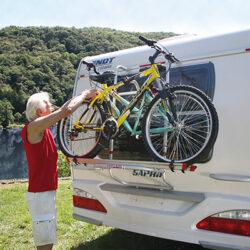 Fiamma Carry-Bike Caravan Back Wall велосипедные крепления для караванов