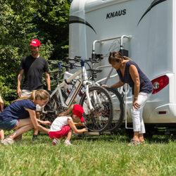 Fiamma Carry-Bike Lift 77 велосипедные крепления для автодомов
