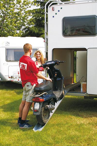 Fiamma Carry-Moto крепление для мотоцикла в гараже автодома — купить онлайн с доставкой