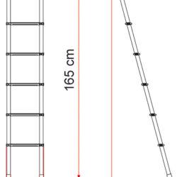 Фото — Fiamma Delux внутренняя лестница для автодома 1