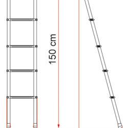 Фото — Fiamma Delux внутренняя лестница для автодома 0