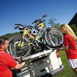 Fiamma Carry-Bike VW T5 / VW T6 велосипедные крепления для кемпервенов 1