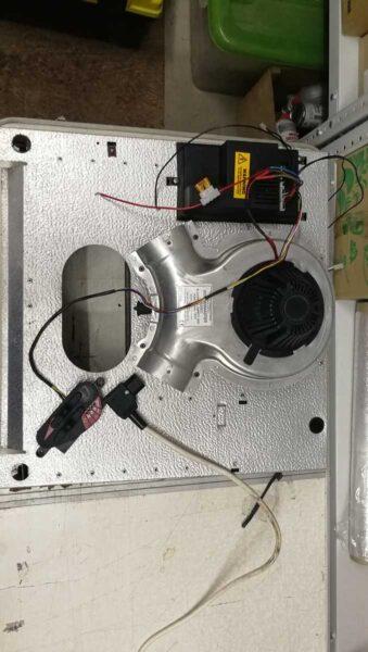 Carver 3600 газовый отопитель 1