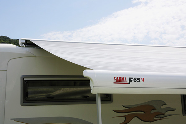 Fiamma F65L маркиза накрышная — купить онлайн с доставкой