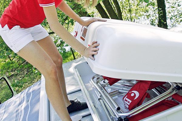 Fiamma Ultra-Box багажный бокс на крышу — купить онлайн с доставкой