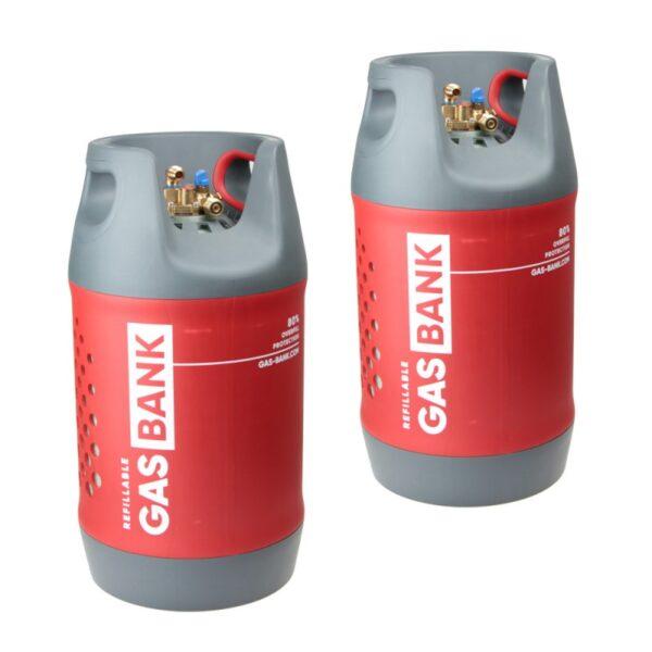 GasBANK — заправляемый газовый баллон — купить онлайн с доставкой