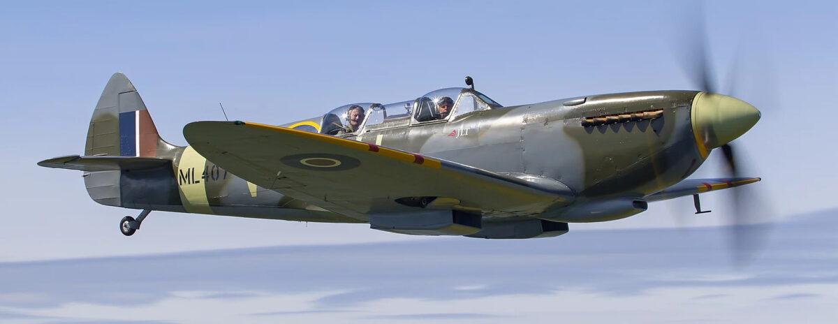 Британский истребитель Spitfire
