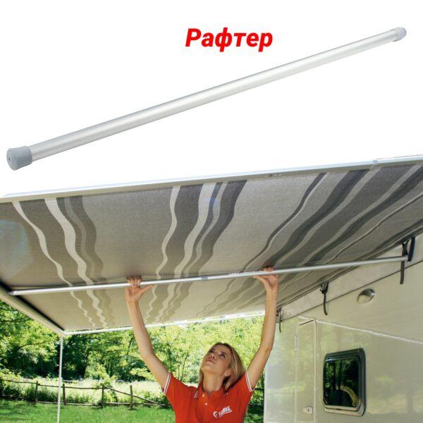 Fiamma Caravanstore 410 XL — ручная маркиза и палатка — купить онлайн с доставкой