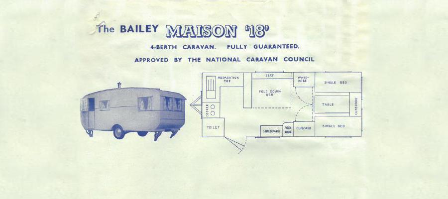 Внешний вид и планировка каравана Maison от Bailey
