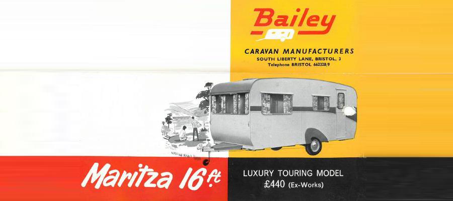 Рекламное объявление Bailey в журнале, 1961 г.