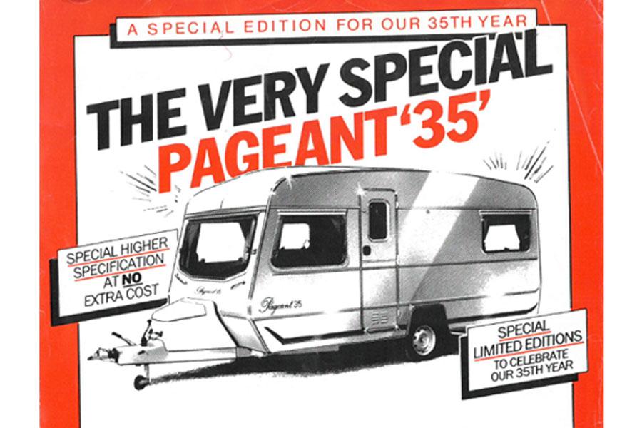 Реклама юбилейной модели Bailey Pageant в журнале, 1983 г.