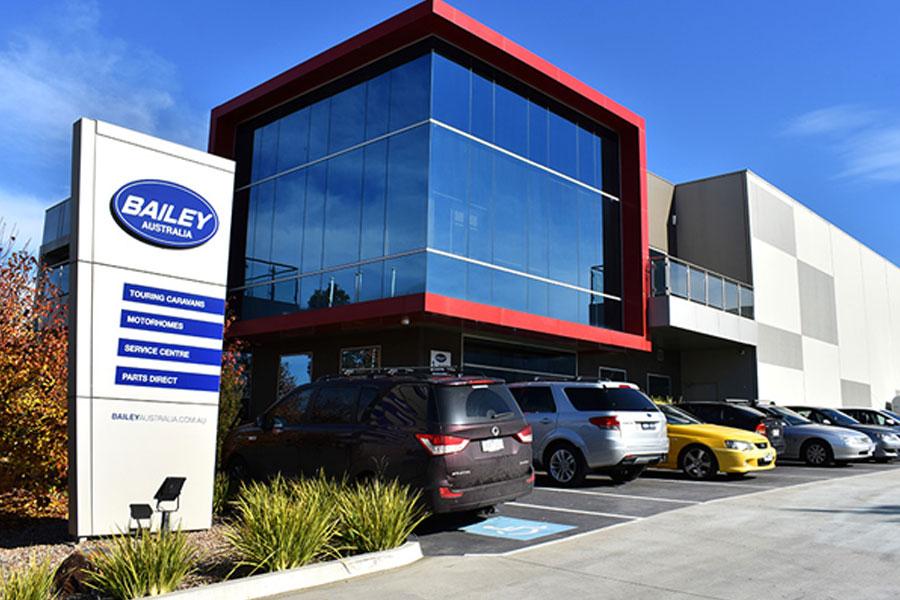 Завод и офис продаж Bailey в Мельбурне, Австралия