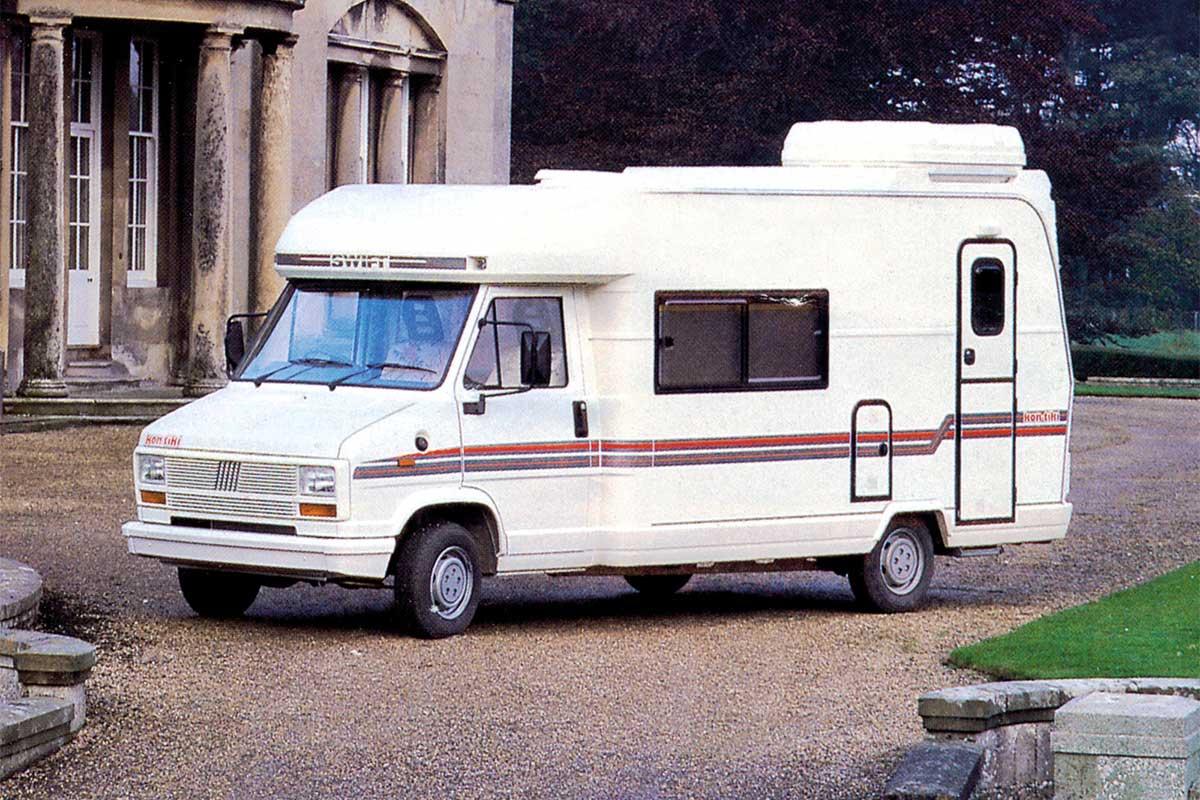 Первый автодом Swift 1985 года