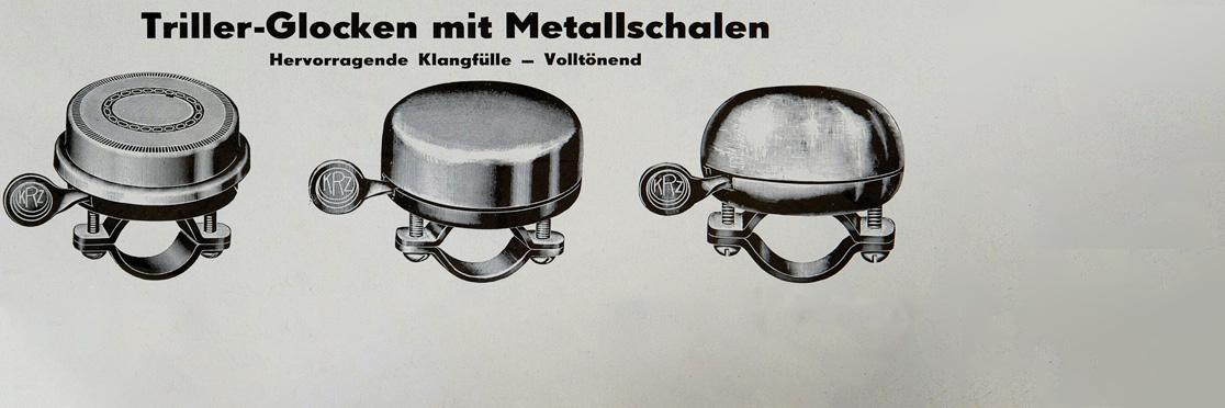 Реклама велосипедных звонков Reich